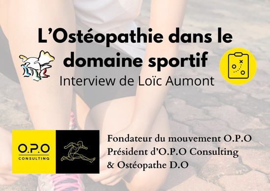 Interview: Ostéopathie et sport